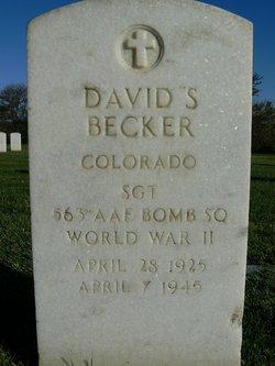 Sgt David Stanley Becker