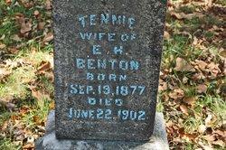Tennessee <i>Moore</i> Benton