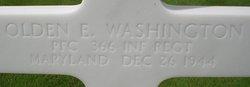 PFC Olden E Washington