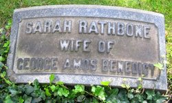 Sarah Frances <i>Rathbone</i> Benedict
