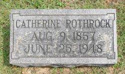 Hannah Catherine Kate <i>Burgess</i> Rothrock