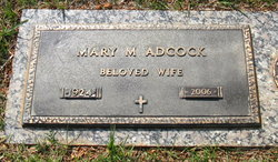Mary Evans Adcock