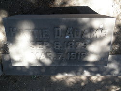 Henrietta Hattie <i>Dorris</i> Adams