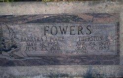 Barbara Jane <i>Poole</i> Fowers