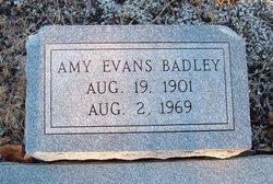 Amy <i>Evans</i> Badley