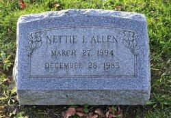Nettie <i>Isaacs</i> Allen