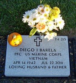 PFC Diego I. Barela