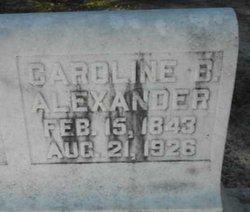 Caroline <i>Brewton</i> Alexander