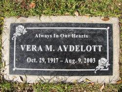 Vera M <i>Sanders</i> Aydelott