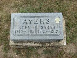 Sarah <i>Croucher</i> Ayers