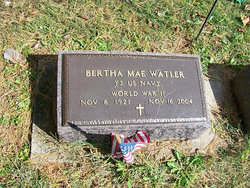 Bertha Mae Watler