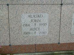 John L Alasko
