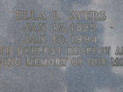Ella Lee <i>Edenfield</i> Ayers