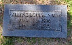 Allyne Louise Sims