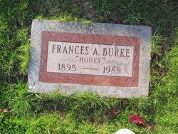 Frances A. Honey Burke