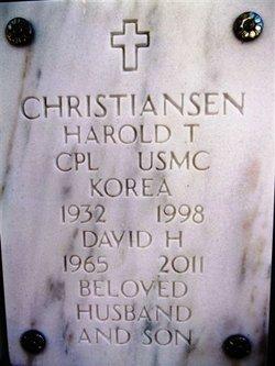 Corp Harold T. Christiansen