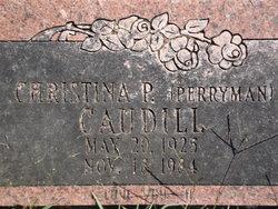 Christina P <i>Perryman</i> Caudill