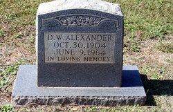 D W Alexander
