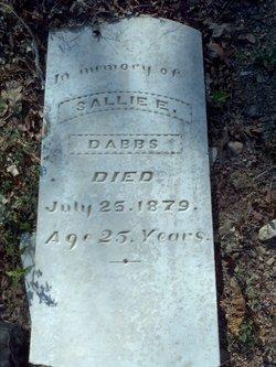 Sallie E Dabbs