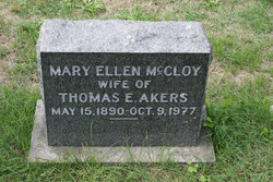 Mary Ellen <i>McCloy</i> Akers