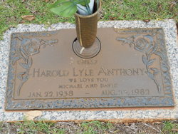 Harold Lyle Bill Anthony