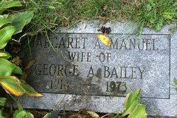 Margaret A. <i>Manuel</i> Bailey