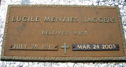 Lucille <i>Menzies</i> Jaggers
