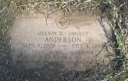 Melvin D Shorty Anderson