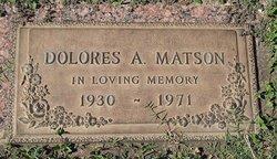 Dolores A. Matson