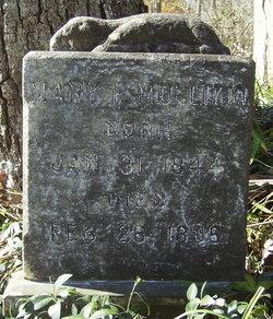 Mary F <i>Wheeler</i> Mullikin