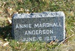 Annie <i>Marshall</i> Anderson