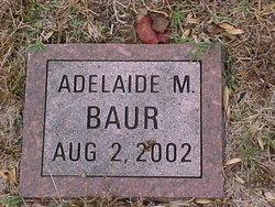 Adelaide M. Baur