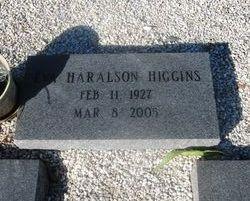 Eva Mae <i>Haralson</i> Higgins