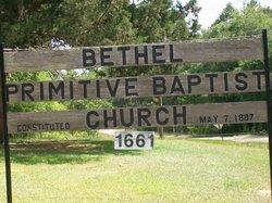 Bethel Primitive Baptist Church Cemetery