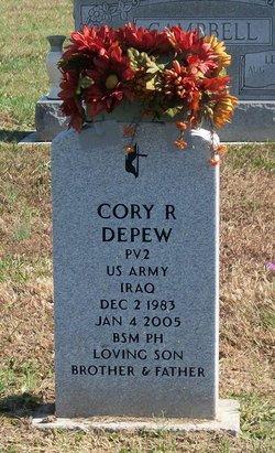 Pvt Cory Ramsey DePew