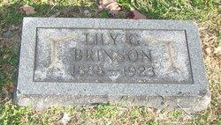Lily G. <i>Gardner</i> Brinson