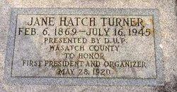 Emma Jane <i>Hatch</i> Turner