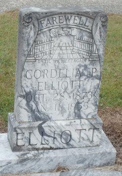 Martha Cordelia <i>Poindexter</i> Elliott