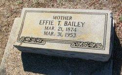 Effie T. <i>Pittman</i> Bailey