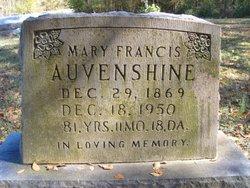 Mary Francis <i>Russ</i> Auvenshine