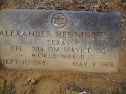 Alexander Hennington