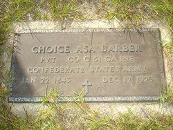 Pvt Choice Asa Barber