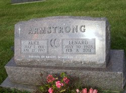 Lenard J. Armstrong