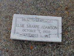 Elsie <i>Sharpe</i> Adamson