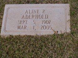 Aline P Aderhold