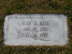 Mary Ruth <i>Smith</i> Bass