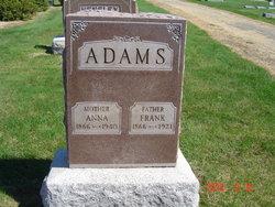 Annie D <i>Houser</i> Adams