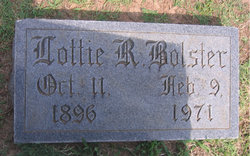 Lottie <i>Rideout</i> Bolster