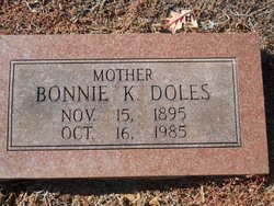 Bonnie <i>Kinnaird</i> Doles