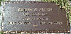 Sgt Glenn C Allen